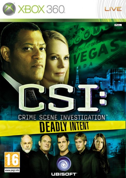 CSI: Deadly Intent Xbox 360