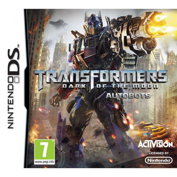 Transformers: Dark of the Moon Autobots DS