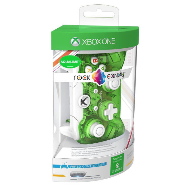 Rock Candy Wired Controller Green Xbox One