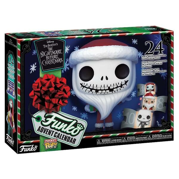 Funko - Pocket POP The Nightmare Before Christmas Joulukalenteri