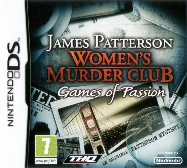 Womens Murder Club: Games of Passion Nintendo DS