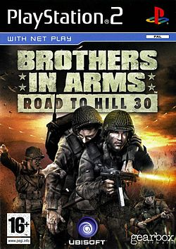 Brothers in Arms Earned in Blood + Road to Hill 30 PS2