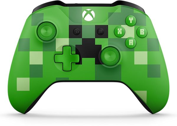 Langaton Ohjain Xbox one Minecraft Creeper