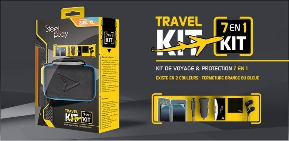 STEELPLAY 2DS XL Travel Kit
