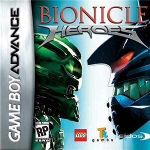 Lego Bionicle Heroes GameBoy Advance (käytetty)