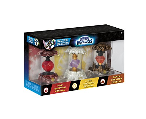 Skylanders Imaginators Crystal 3pk (Earth/Light/Fire)