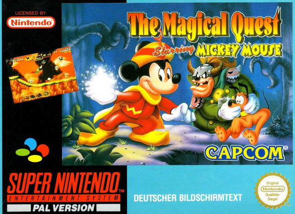 The Magical Quest Mickey Mouse SNES (käytetty)