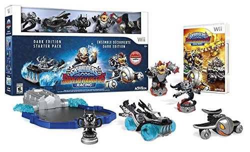 Skylanders Superchargers Racing Dark Edition Wii tuotekuva