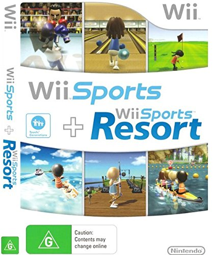 Wii Sports + Wii Sports Resort Wii kansikuva