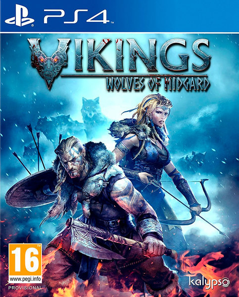 Vikings: Wolves of Midgard PS4 kansikuva
