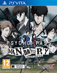 Psycho Pass: Mandatory Happiness PS Vita