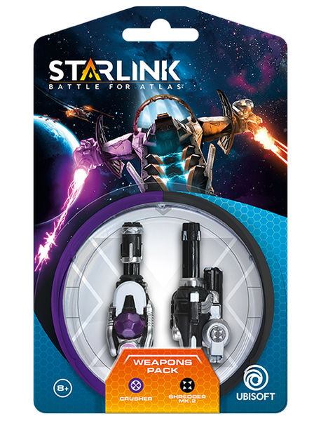 Starlink: Battle for Atlas Weapon Pack Crusher + Shredder