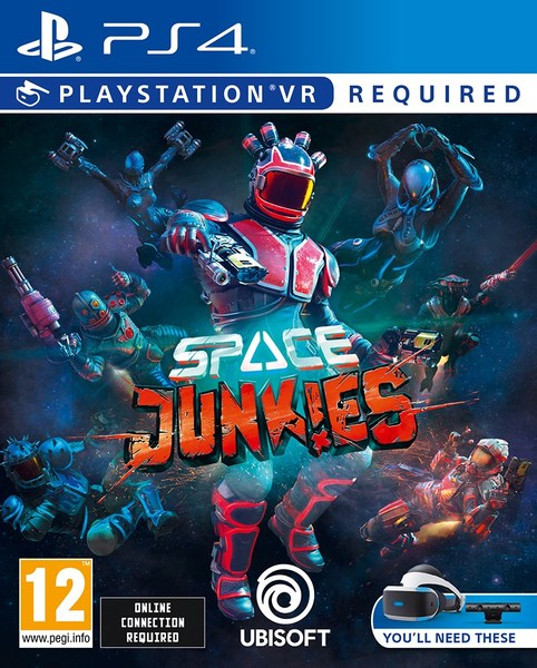 Space Junkies PS4 kansikuva