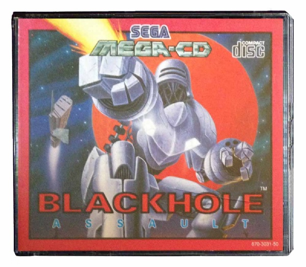 Blackhole Assault Sega Mega CD (käytetty)
