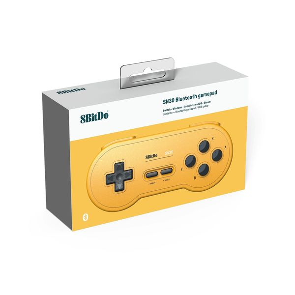 8Bitdo SN30 Bluetooth Gamepad Yellow Edition Controller