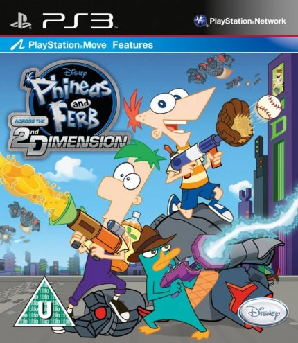 Phineas and Ferb: Across the Second Dimension PS3