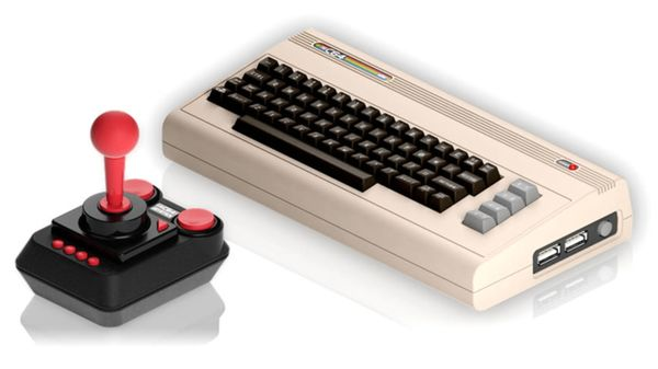 Commodore 64 Mini konsolin tuotekuva