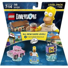 Lego Dimensions Level Pack The Simpsons lisäosa