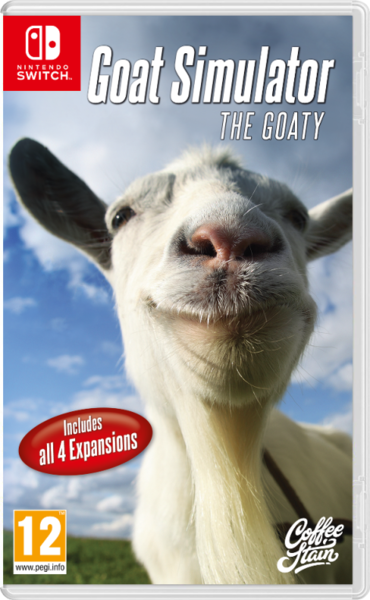 Goat Simulator Switch - THE GOATY