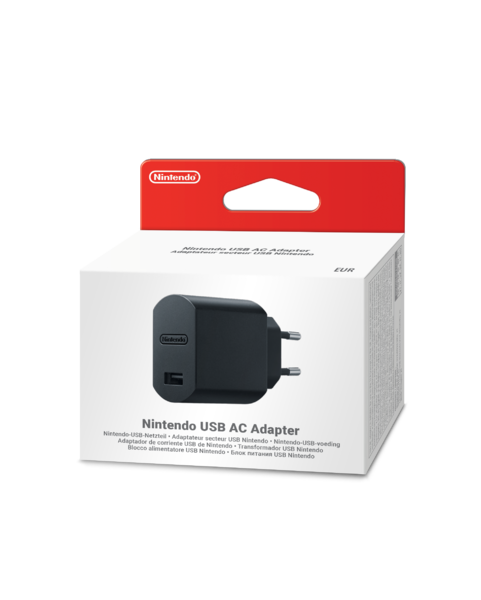Nintendo Usb Ac Adapter (Switch/Mini NES/Mini SNES) (käytetty)