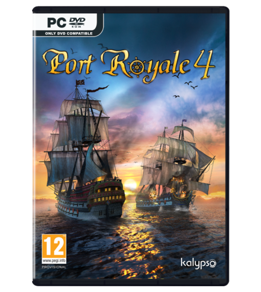 Port Royale 4 PC kansikuva