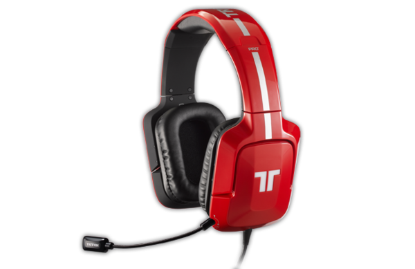 Tritton Pro+ 5.1 Surround Headset punainen PS3/PS4/PC/MAC/X360