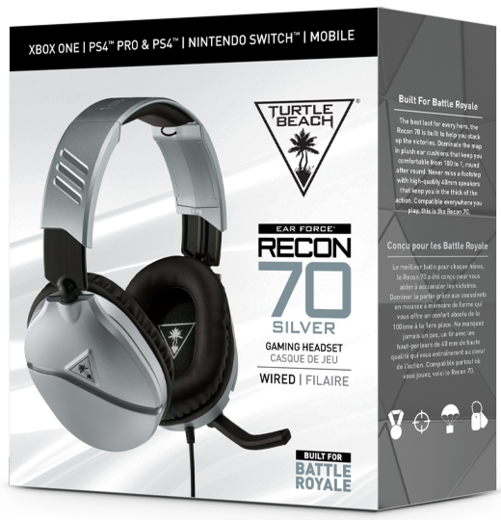 Turtle Beach Recon 70p Silver PS4