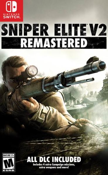 Sniper Elite V2 Remastered Switch kansikuva