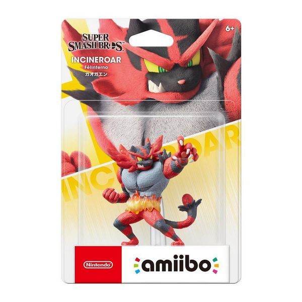 amiibo Super Smash Bros. Collection Incineroar hahmo