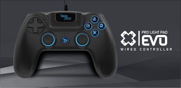 STEELPLAY Pro Light Pad Evo Wired Controller PS4