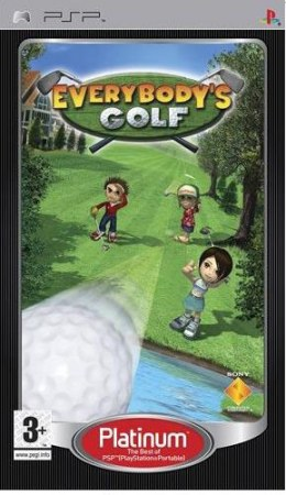 Everybody´s Golf Platinum PSP
