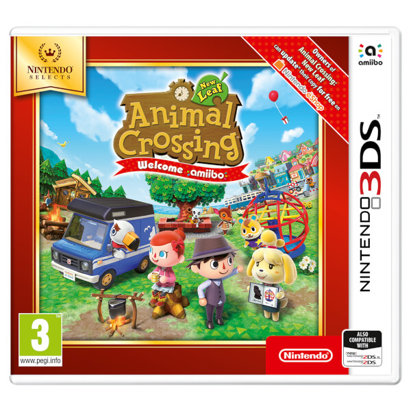 Animal Crossing: New Leaf Welcome Amiibo 3DS