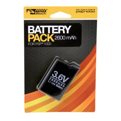 2600 mAh Battery Pack -akku PSP-1000