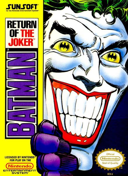 Batman: Return of the Joker NES (käytetty)