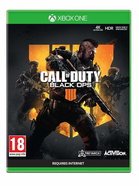 Call of Duty: Black Ops 4 Xbox One kansikuva