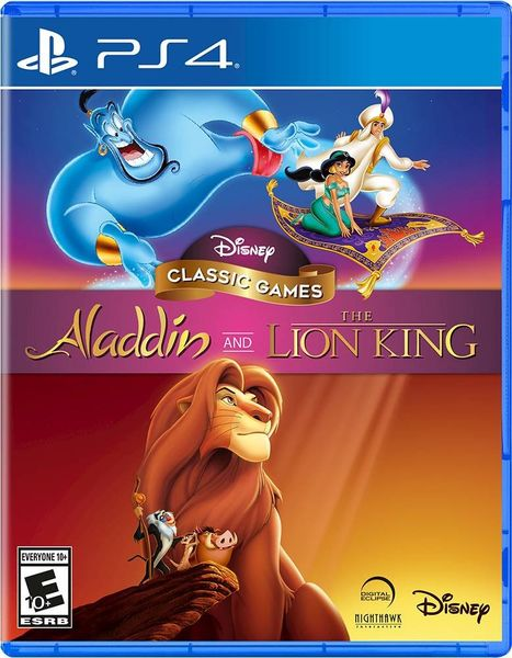 Aladdin & Lion King Remastered Collection PS4