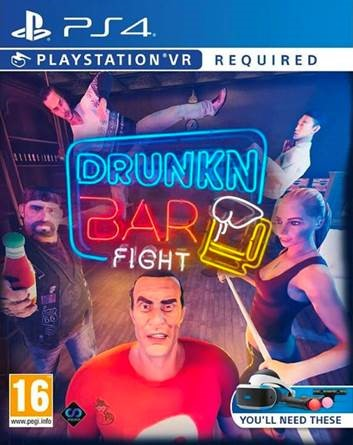 Drunkn Bar Fight PS4