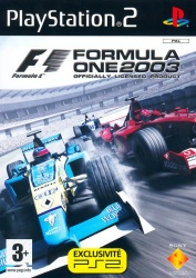 Formula One 2003 Platinum PS2