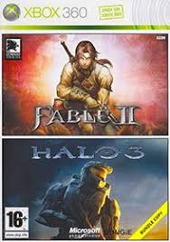 Fable 2 & Halo 3 Xbox 360