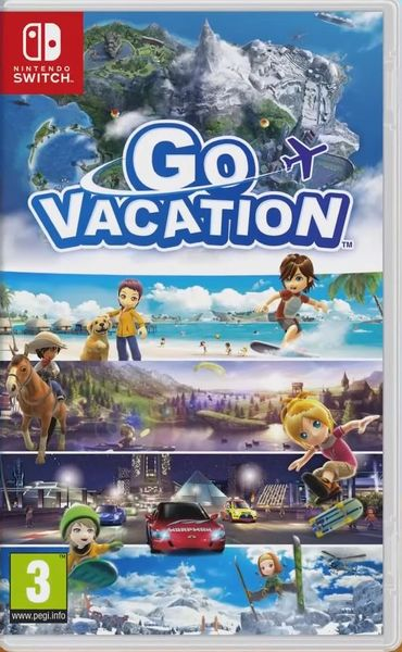 GO VACATION Switch kansikuva