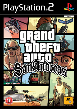Grand Theft Auto: San Andreas Platinum PS2