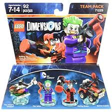 Lego Dimensions Team Pack DC Comics lisäosa
