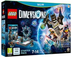 LEGO Dimensions Starter Pack Wii U (käytetty)