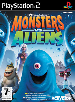 Monsters vs. Aliens PS2
