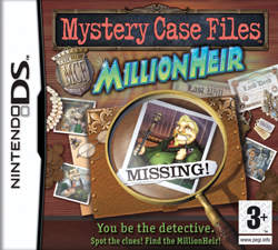 Mystery Case Files: MillionHeir Nintendo DS