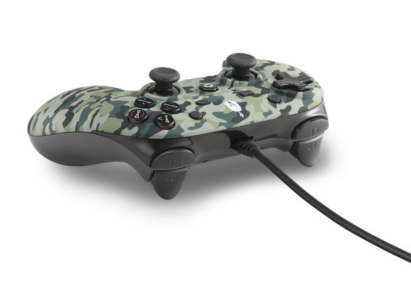 Spartan Gear Wired Controller PC/PS3 Oplon Green Camouflage