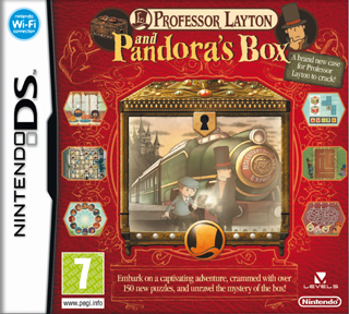 Professor Layton and Pandora´s Box Nintendo DS