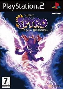 Legend of Spyro: A New Beginning PS2