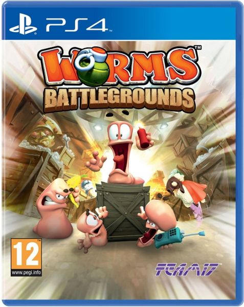 Worms Battlegrounds PS4 kansikuva