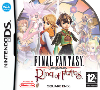 Final Fantasy Crystal Chronicles: Ring of Fates Nintendo DS